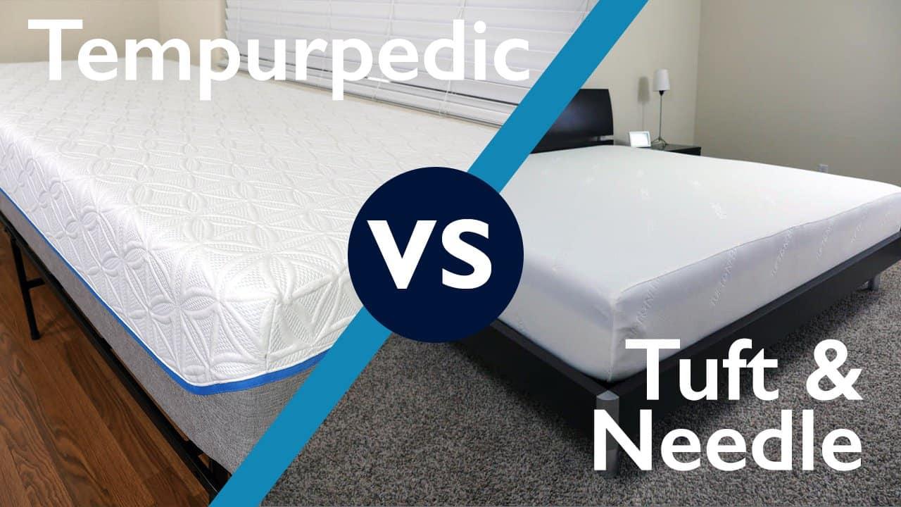 Tuft Amp Needle Vs Tempurpedic Mattress Review Sleepopolis