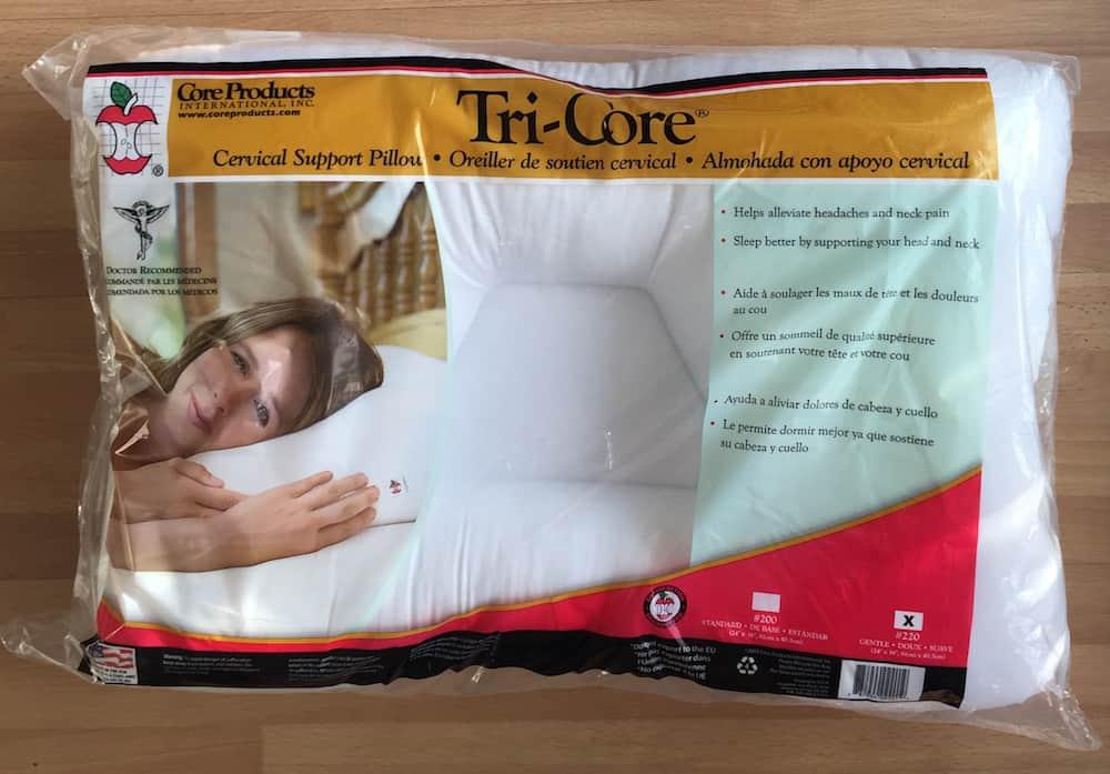tri core cervical pillow review