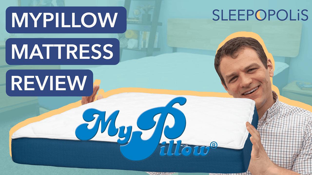 mypillow bed review sleepopolis