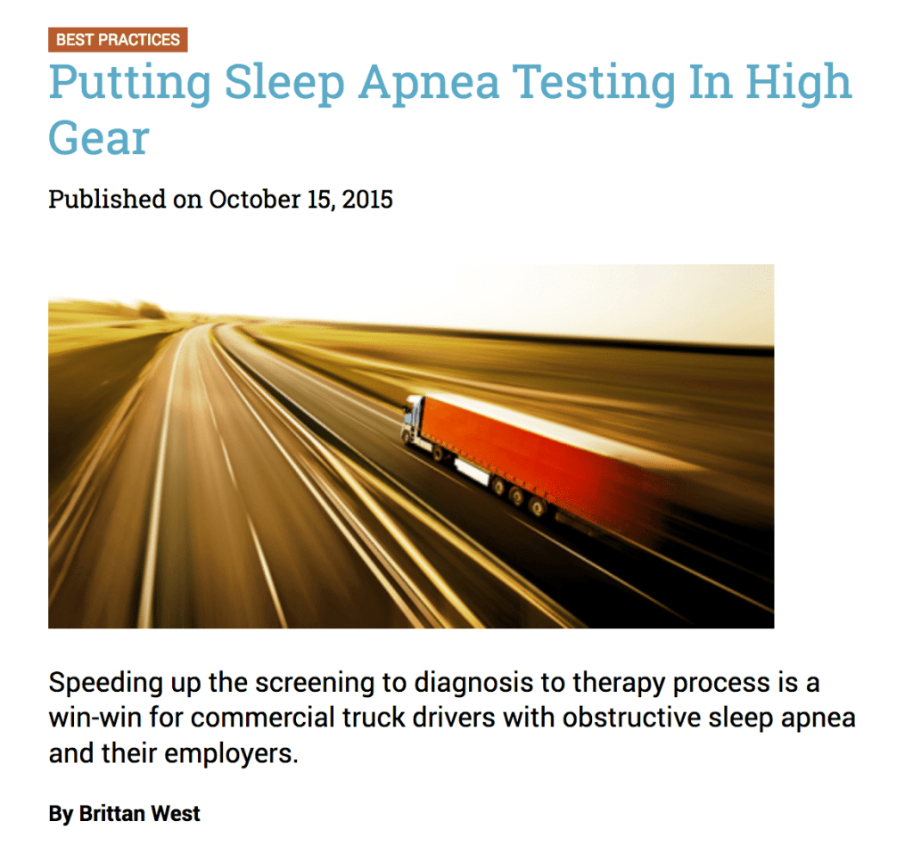 Speeding up diagnosis to therapy