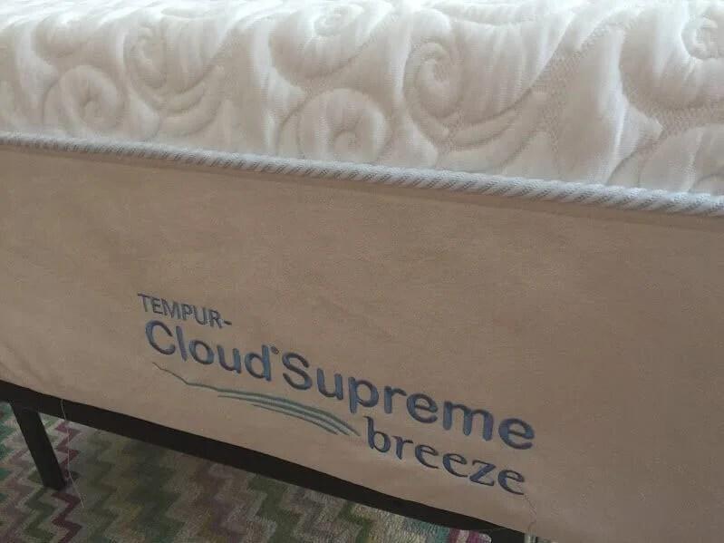 tempurpedic cloud supreme breeze review
