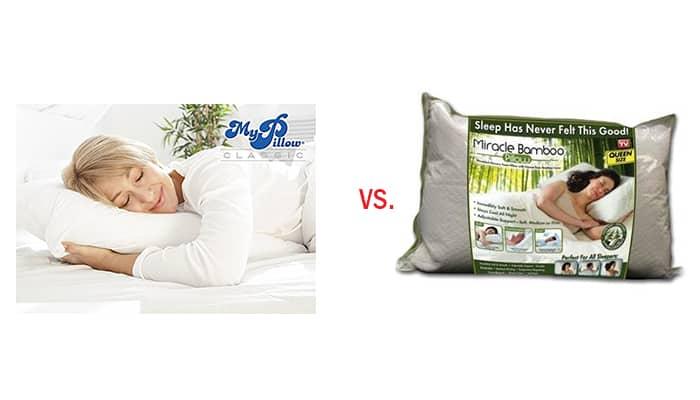 mypillow premium vs miracle bamboo