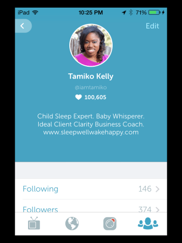 Join Tamiko on Periscope