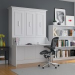 Alegra White Diy Murphy Desk Bed Queen Sleepworks New York
