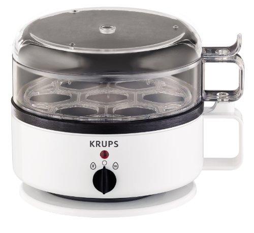 KRUPS F2307051 Egg Cooker, White