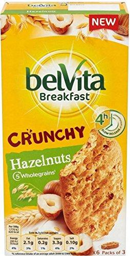 Belvita Breakfast Biscuits Crunchy Hazelnuts (6x50g)