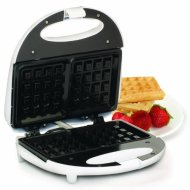 MaxiMatic EWM-9008K Elite Cuisine Waffle Maker with Non-Stick, White