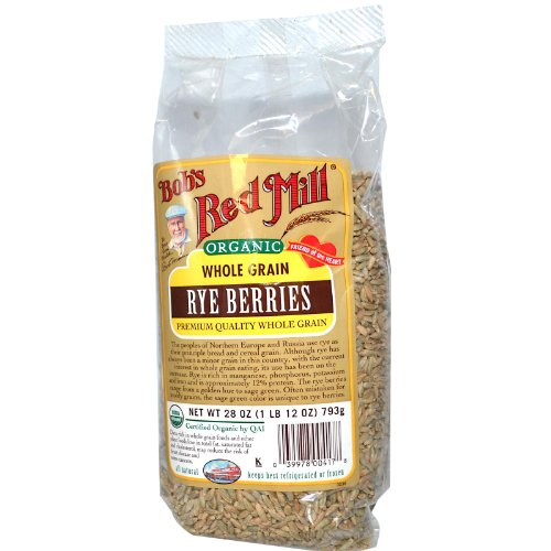 Bob's Red Mill Organic Rye Berries 28 ozs