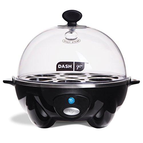 Dash Go Rapid Egg Cooker-BLACK
