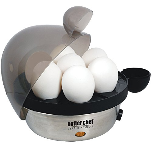 Better Chef 470s Electric Egg Cooker, Stainless