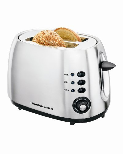 Hamilton Beach 2-Slice Toaster – Brushed Metal