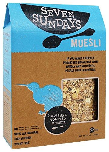 Seven Sundays – Muesli All Natural Original Toasted – 12 oz.