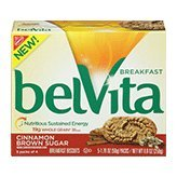 Nabisco Belvita Cinnamon Brown Sugar Breakfast Biscuits, 8.8 Ounce
