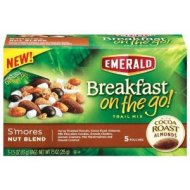 BREAKFAST on the Go! S'mores Nut Blend 5 pkts/1.5 oz each (Pack of 3)