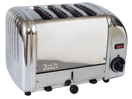 Cadco 4-Slot Toaster, 220-Volt