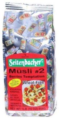 Berries Temptation Wheat-Free Muesli (Musli #2) – 16oz [Pack of 1]
