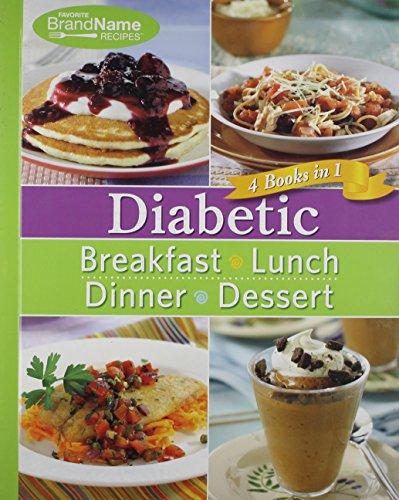 Diabetic 4 Cookbooks in 1: Breakfast, Lunch, Dinner, Desserts
