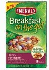 Emerald Breakfast on the Go! Blend and Granola Mix, Berry Nut, 7.5 Ounce (Pack of 8)
