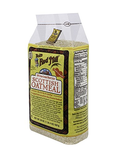Bob's Red Mill Oatmeal Scottish, 20-Ounce (Pack of 4)