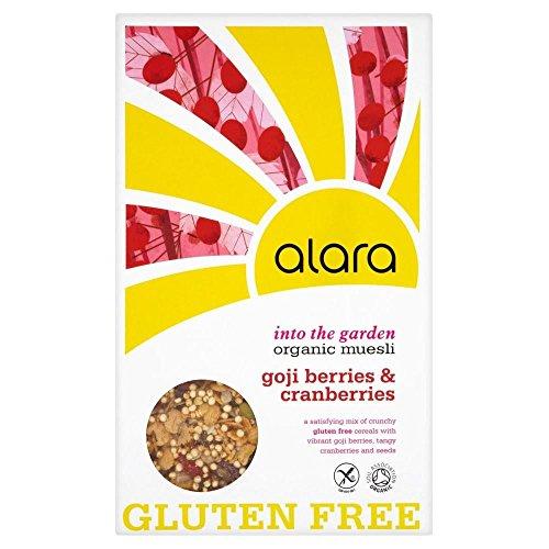 Alara Organic Gluten Free with Goji Berries & Cranberries Organic Muesli (650g)