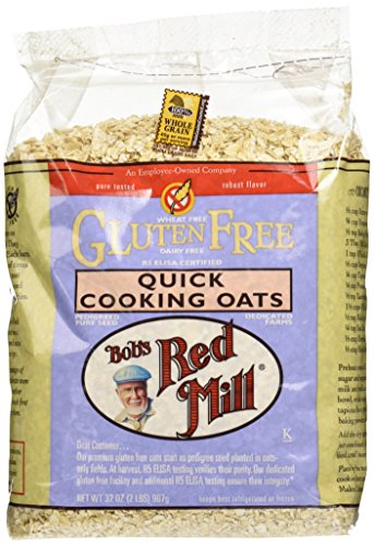 Bob's Red Mill Gluten Free Quick Cooking Oats – 32 oz