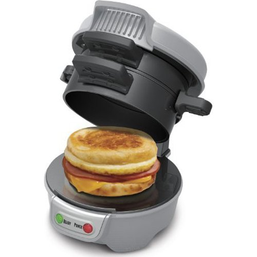 Hamilton Beach 25475 Breakfast Sandwich Maker, Gray