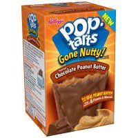 Pop-Tarts Gone Nutty Frosted Chocolate Peanut Butter Toaster Pastries (Case of 12)