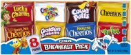 General Mills Assorted Cereal Breakfast pack, 8-Count Single Serve Pouches (Pack of 5)