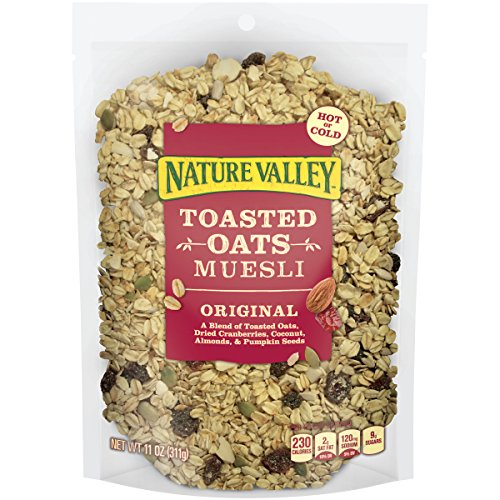 Nature Valley Toasted Oats Muesli, Original, 11 Ounce