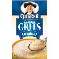 Quaker Grits Instant Original, 12-Count, Single Pack (12 Oz)