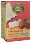 Nature's Path Organic Toaster Pastries Strawberry Frosted — 11 oz