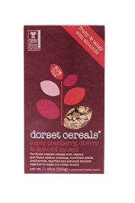 Dorset Cereal Super Muesli, Cranberry Cherry Almond, 11.46-Ounce