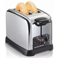 Hamilton Beach Classic Chrome 2-Slice Extra-Wide Slot Toaster