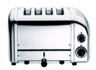 Dualit 4-Slice Toaster, Chrome