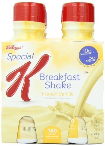 Kellogg's Special K Breakfast Shake, French Vanilla, 40 Ounce (Pack of 6)