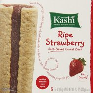 Kashi Cereal Bar, Ripe Strawberry, 7.2 Ounce (Pack of 6)