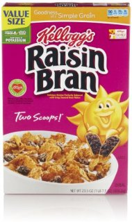 Kellogg's Raisin Bran, 23.5 Oz