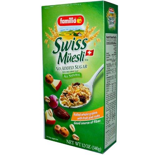 Familia Swiss Muesli – No Sugar, 12-Ounce