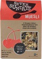 Seven Sundays Muesli, Vanilla Cherry Pecan, 12 Oz, Pack Of 6