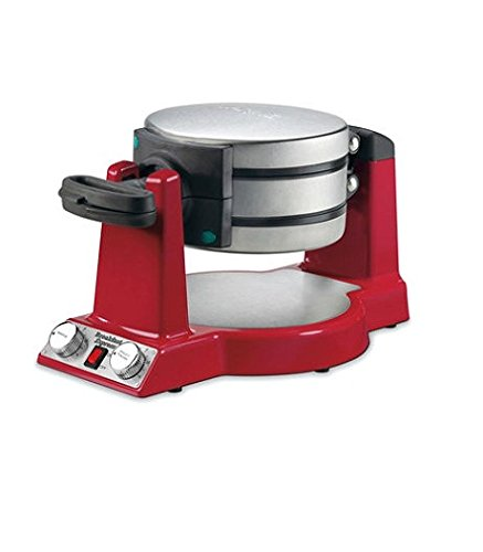 Waring WMR300 Belgian Waffle & Omelet Maker,Red