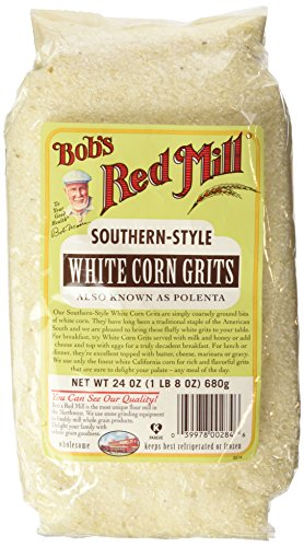 Bob's Red Mill Corn Grits White, 24-Ounce