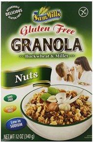 Sam Mills Gluten Free Nuts Granola, 12 Ounce