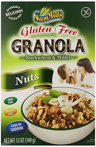 Sam Mills Gluten Free Nuts Granola, 12 Ounce
