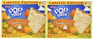 Kellogg's Pop-Tarts (2 PACK)-LIMITED EDITION 24 Pumpkin Pie Toaster Pastries, 2 BOXES (Each Box Contains 12 Pastries) – Each Box is 21.1 oz)