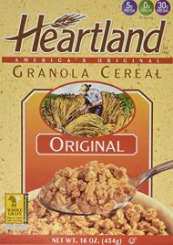 Heartland Granola Cereal, Original, 16-Ounce Box (Pack of 6)