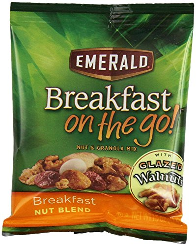Emerald Breakfast on the Go! Breakfast Nut, Blend and Granola Mix, 7.5 Ounce