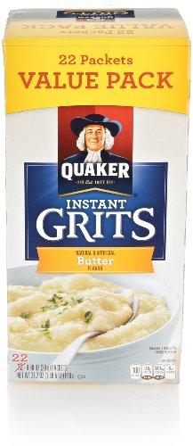 Quaker Instant Grits, Butter, 21.7 Oz