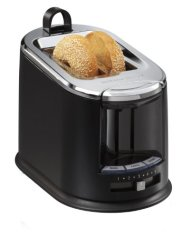 Hamilton Beach SmartToast Extra-Wide Slot 2 Slice Toaster with Tongs