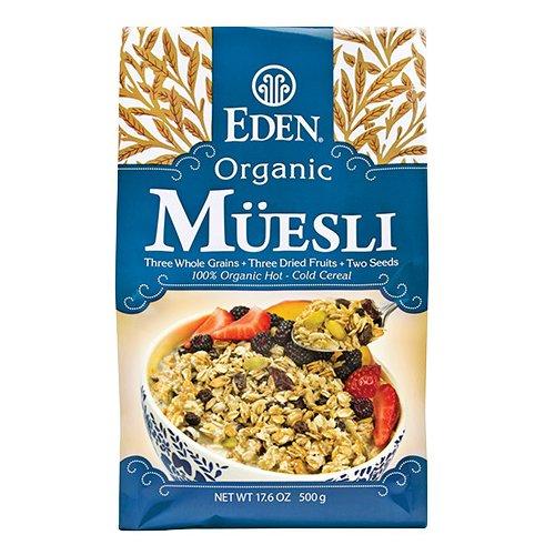 Eden Organic Muesli, 17.6 Ounce