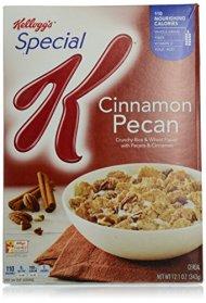 Special K Kellogg's Cereal, Cinnamon Pecan, 12.1 Ounce